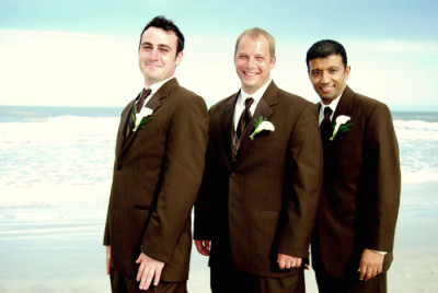 gulf coast florida groom best man beach wedding