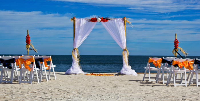 Two Lives One Love Beach Wedding Package Beach Ceremony